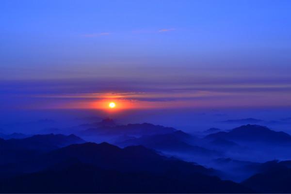 雾灵山景点图片